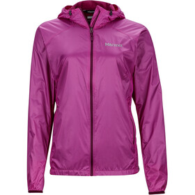 Marmot W's Ether DriClime Hoody Jacket Neon Berry